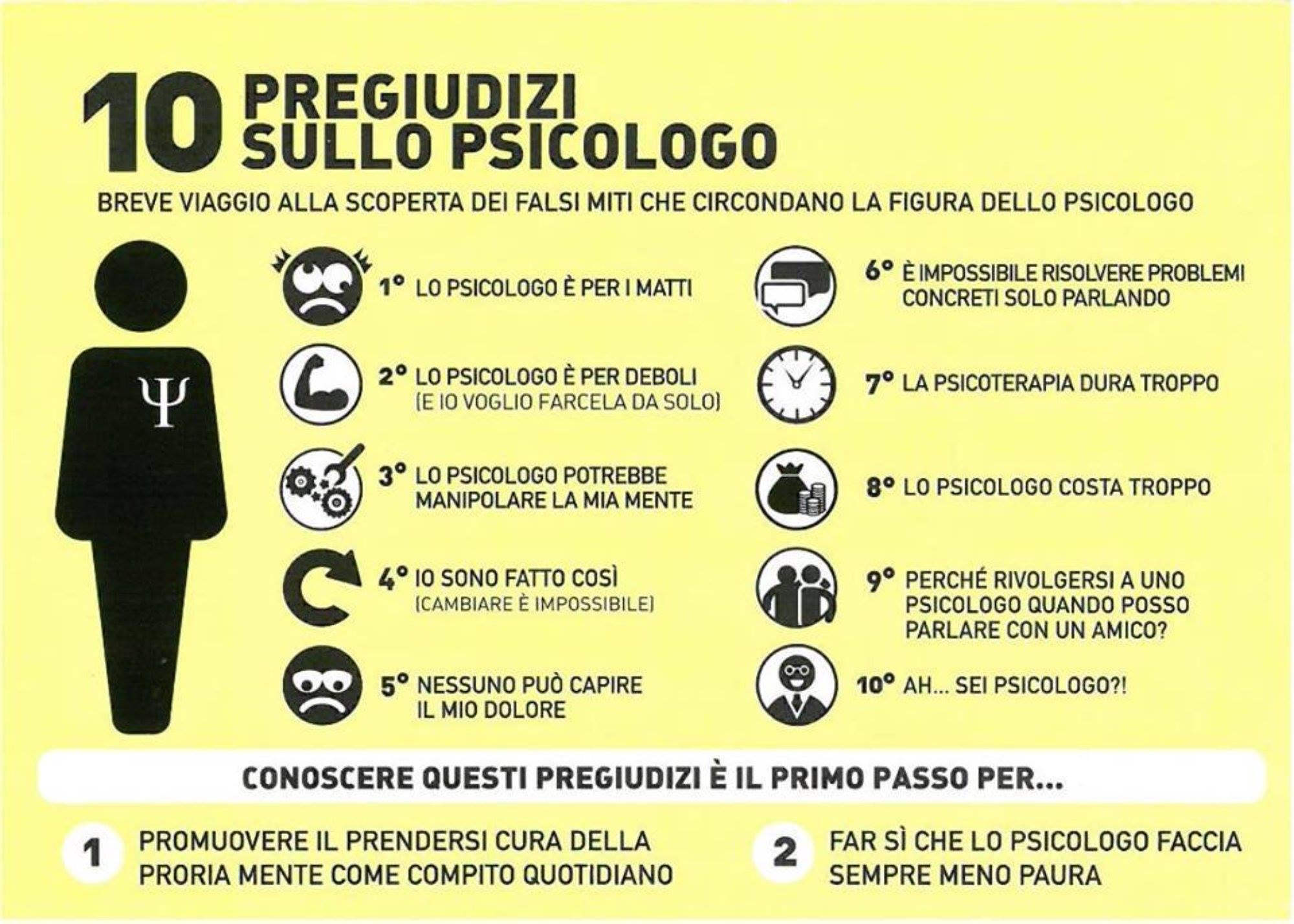 stereotipi e pregiudizi psicologo
